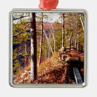 Väg 3 Cliffside Path.JPG för Leo Harrison St Pk Julgransprydnad Metall