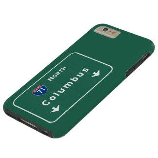 Väg för Columbus Ohio oh Interstate Tough iPhone 6 Plus Fodral