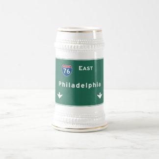 Väg för motorväg för huvudväg för Philadelphia pa Ölkrus
