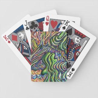 """""""Vågar av välstånd"""" som leker kort Spelkort"""