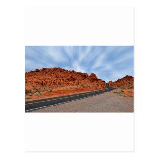 Vägen till räddning vykort
