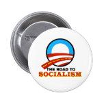 Vägen till socialismen knapp med nål