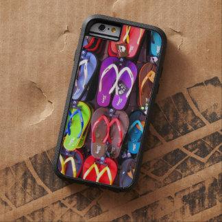 Vägg av flinflip flops tough xtreme iPhone 6 case