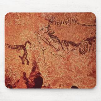 Vagga målning av en jaktplats, c.17000 BC Musmatta