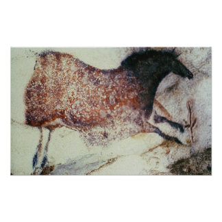 Vagga målning av en snabbt växande häst, c.17000 B Poster