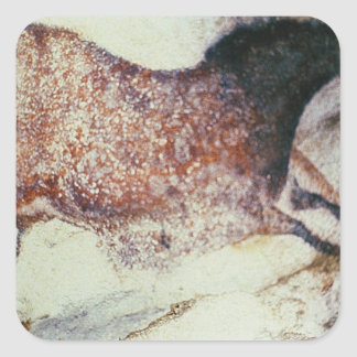 Vagga målning av en snabbt växande häst, c.17000 fyrkantigt klistermärke