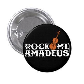 Vagga mig Amadeus som den Retro väderkornet Mini Knapp Rund 3.2 Cm