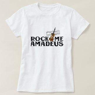 Vagga mig grafisk Amadeus klassisk popkultur Tröjor