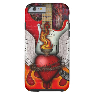 Vagga & rulla fodral för iPhone 6 för religionen Tough iPhone 6 Fodral