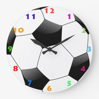 Väggen för FOTBOLLBOLL (FOTBOLL) tar tid på Stor Klocka
