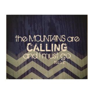 väggkonstcitationstecken som bergen kallar trätavla