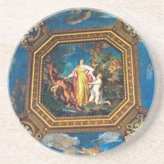 Väggmålning i det Vatican museet Underlägg
