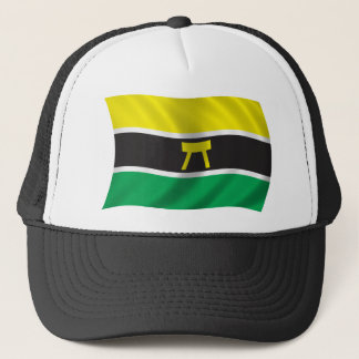 Vågigt den Ashanti flagga Keps