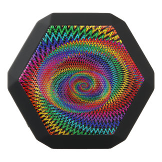 Vågigt den spiral Boombot Rex Bluetooth för Svart Bluetooth Högtalare