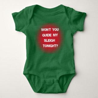 Vägleda mitt Sleighjulcitationstecken T Shirt
