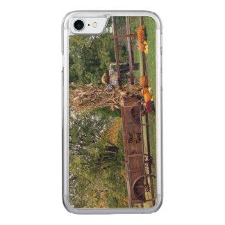 Vagn för nedgångplatsGammal-Time lantgård, Carved iPhone 7 Skal