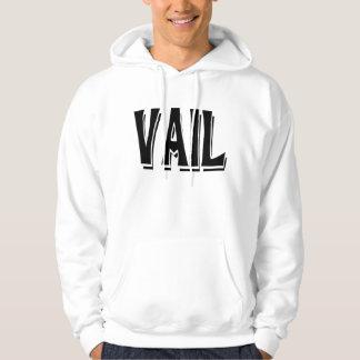 Vail skuggar logotypen hoodie