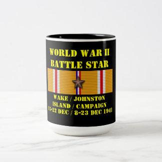 Vak/Johnston ökampanj Två-Tonad Mugg