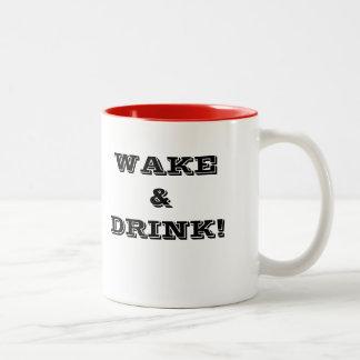 Vak och drink! Två-Tonad mugg