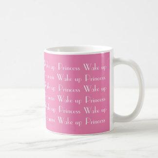Vak upp Princess Rosa Vit Kaffe Muge Vit Mugg