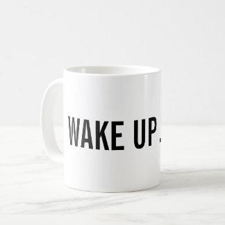 Vak upp! Tillfoga ditt namn Kaffemugg
