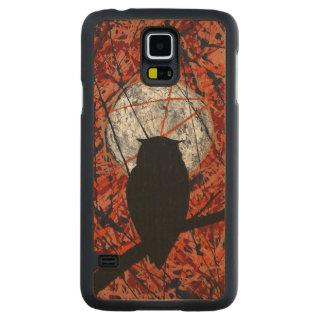 VAKAN: Kan inte slåss ~en för månsken~ Carved Lönn Galaxy S5 Slim Skal