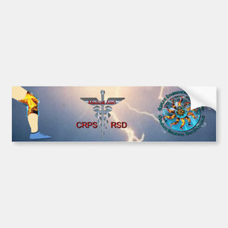 Vaken läkarundersökning för CRPS RSD & blixt Bildekal