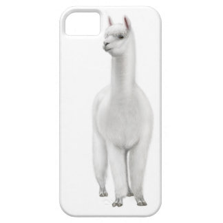 Vaken vitAlpacaiphone case iPhone 5 Case-Mate Fodral