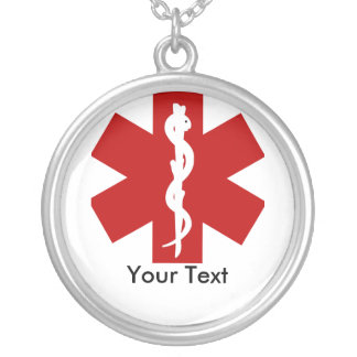 Vaket halsband för medicinsk legitimation