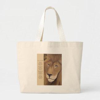 Vakna det lejont hänger lös Within Jumbo Tygkasse