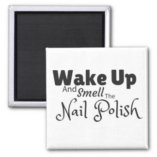 Vakna upp och lukta den polska magneten för nageln magnet