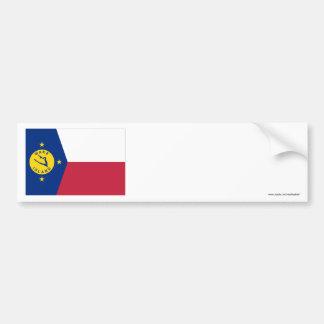 Vaköflagga Bildekal