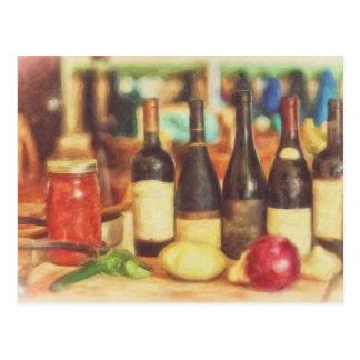 Val av viner vid Shawna Mac Vykort