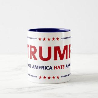 Val för Donald Trump sloganparodi Två-Tonad Mugg