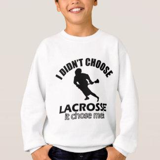 Valde inte lacrosse tshirts