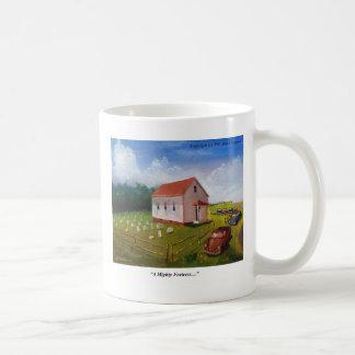 Väldig fästning kaffemugg