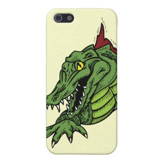 Våldsam alligatoralligator iPhone 5 fodraler