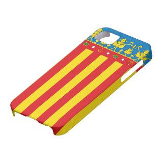 Valencia flagga iPhone 5 Case-Mate fodral