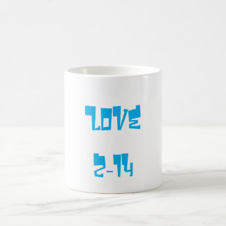 Valentin Azure för mugg för kärlek för