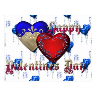 Valentin dag vykort
