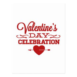 Valentin dagfirande vykort