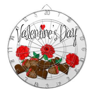 Valentin daggåva darttavlor