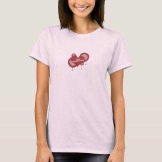 Valentin daghjärta t-shirt
