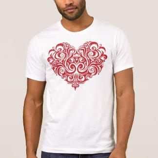 Valentin daghjärta t-shirts