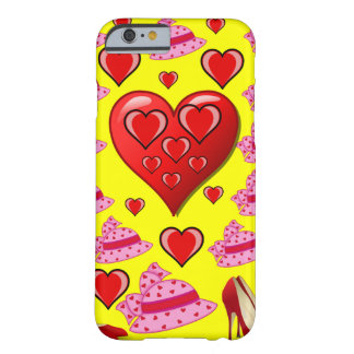 Valentin dagiphone case för henne barely there iPhone 6 skal