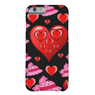 Valentin dagiphone case för henne som är svart barely there iPhone 6 fodral