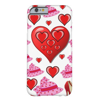 Valentin dagiphone case för henne vit barely there iPhone 6 fodral