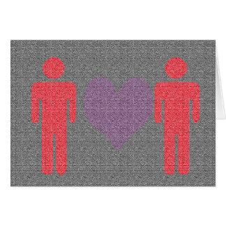 Valentin dagkort för honom och honom hälsningskort