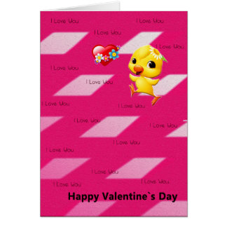 Valentin dagkort hälsningskort