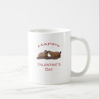 Valentin dagkyss kaffemugg